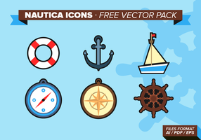 Nautica Icons Free Vector Pack