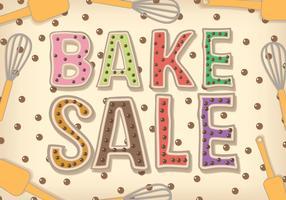 Bake Sale Vector