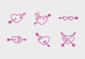 Free Heart Vector Icons #2