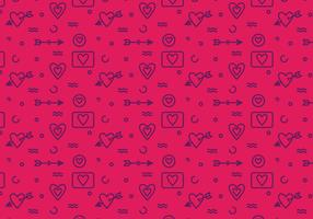 Free Heart Vector Pattern #6