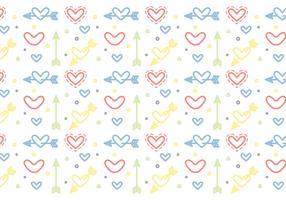 Free Heart Vector Pattern #5