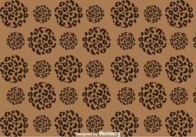 Leopard Pattern On Circle Shape