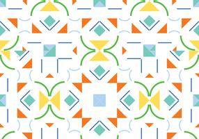 Abstract shape seamless pattern background