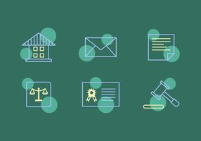 Free Law Office Vector Icons #11
