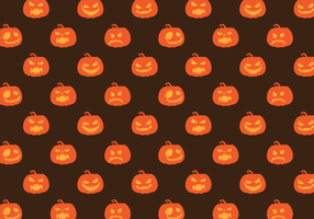 Free Vector Pattern Pumpkin Halloween