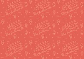 Free Foodtruck Vector Patterns #1