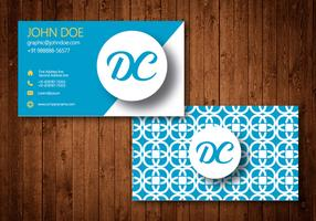 Business Card Vector Design