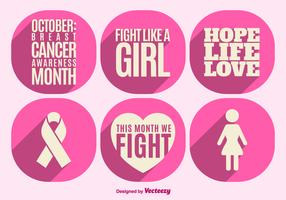 Breast cancer awareness elements