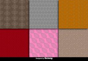 Leaves seamless pattern vectors