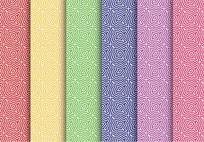 Colorful Swirl Pattern Vectors