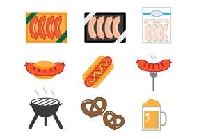 Bratwurst Icons