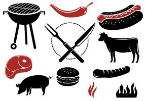 Free Barbeque Vectors