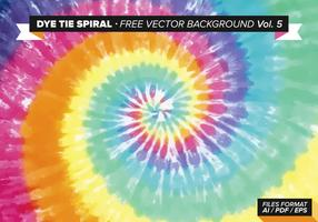Dye Tie Spiral Free Vector Background Vol. 5