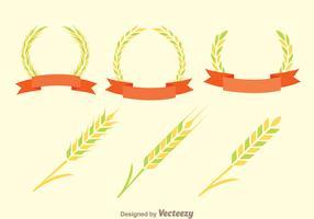 Ear Of Corn Decoration Vectors