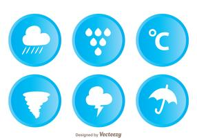 Weather Circle Icons