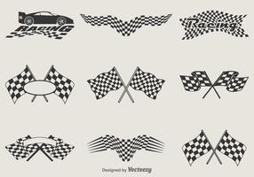 Free Vector Racing Flags