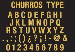 Churros Type