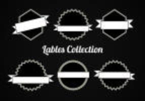 Kostenlose Vector Sammlung von Etiketten