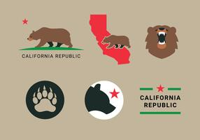 California Bear Vectors