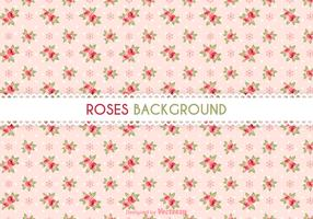 Free Roses Vector Background
