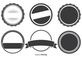 Assorted Badge Shapes Set
