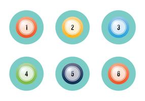 Free Lotto Balls Vector Illustration