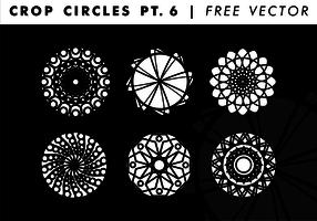 Crop Circles PT. 6 Free Vector