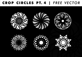 Crop Circles PT. 4 Free Vector