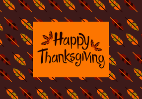 Free Happy Thanksgiving Vector