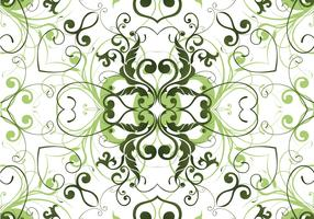 Green garden pant pattern background