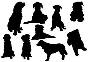 Free Dog Silhouette Vector