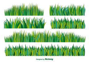 Vector flat grass