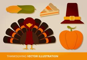 Thanksgiving Vector Set