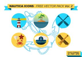 Nautica Icons Free Vector Pack Vol. 2