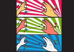Free Simple Pop Art #4 Facebook Cover