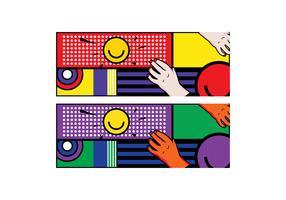 Free Simple Pop Art #2 Facebook Cover