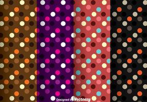 Dark Polka Dot Pattern