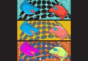 Free Simple Pop Art #8 Facebook Cover