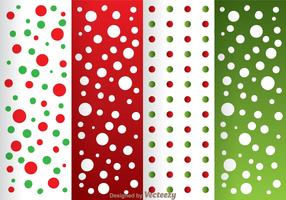 Red And Green Dot Pattern