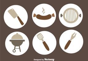 Bratwurst Grill Vector