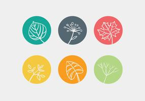 Vector Leave Icon Set