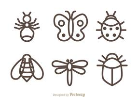 Insect Isolated Icons