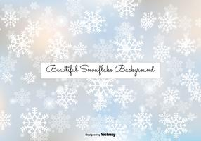 Beautiful Snowflake Background