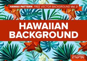 Hawaiian Pattern Free Vector Background Vol. 3
