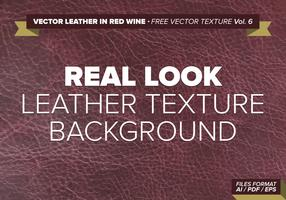 Vector Leather In Red Wine Free Vector Texture Vol. 6