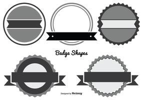 Assorted Badge Shape Set