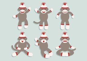 Sock Monkey Vector