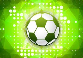 Green football vector