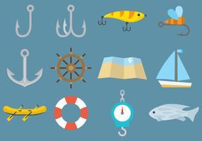 Vector Fishing Icons