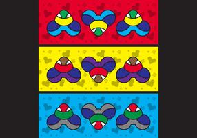 Free Simple Pop Art #13 Facebook Cover